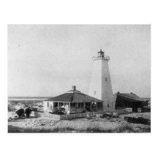 Ship Island Lighthouse Postcard