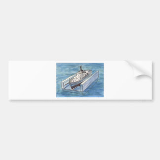 Ship Lift Bumper Sticker
