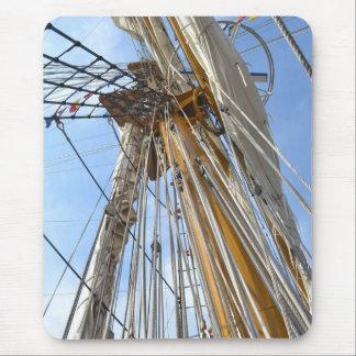 Ship Mast Mouse Pad