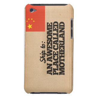 Ship me to China iPod Touch Covers