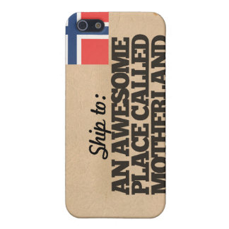Ship me to Norway iPhone 5 Cover