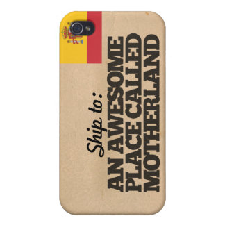 Ship me to Spain Case For iPhone 4