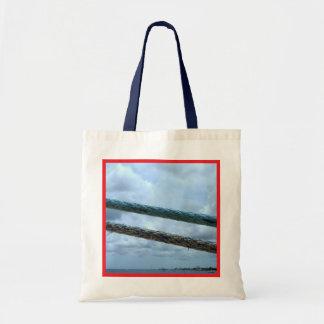 Ship Mooring Lines Budget Tote Bag
