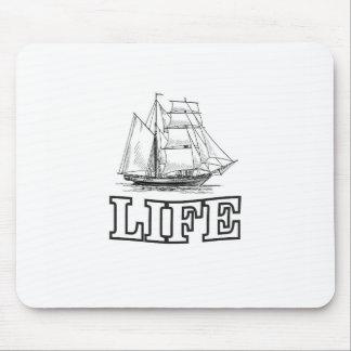 ship on life mouse pad