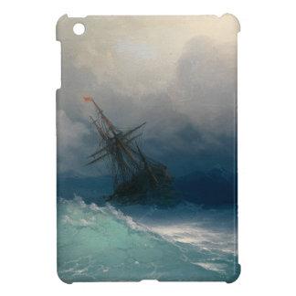 Ship on Stormy Seas, Ivan Aivazovsky Case For The iPad Mini