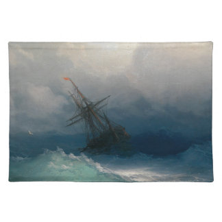 Ship on Stormy Seas, Ivan Aivazovsky - Placemat