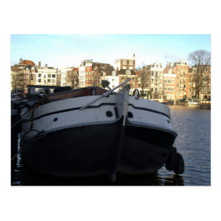 Ship on the Amstel River Amsterdam Post Cards