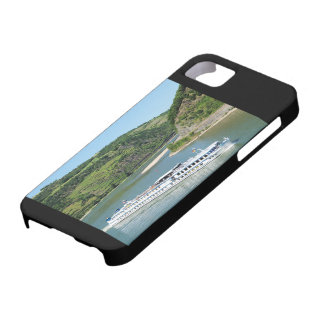 Ship on the Rhine with Oberwesel Case For The iPhone 5