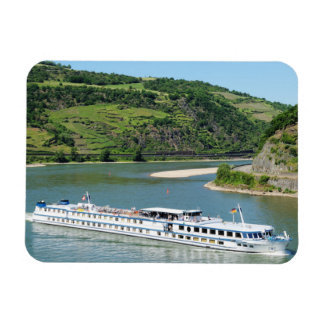 Ship on the Rhine with Oberwesel Magnet