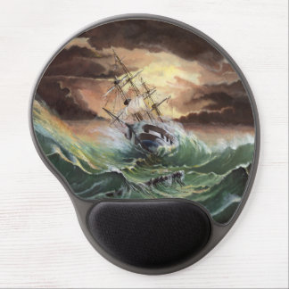 Ship Painting Gel Mouse Pad