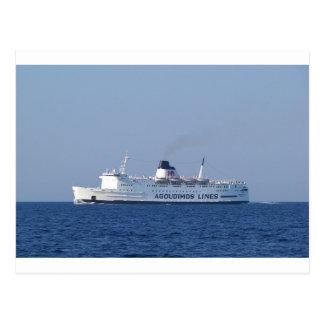Ship Penelope A. Postcard