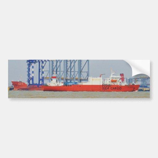 Ship SC Nordic Bumper Sticker