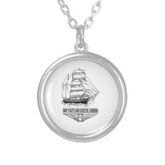 ship shape and Bristol fashion Silver Plated Necklace