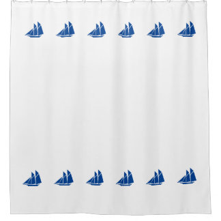 """""""Ship"""" Shower Curtain"""