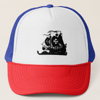 Ship Silhouette Trucker Hat
