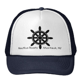 Ship Steering Wheel Nautical Boat Business Hat