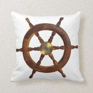 Ship Steering Wheel Pillow