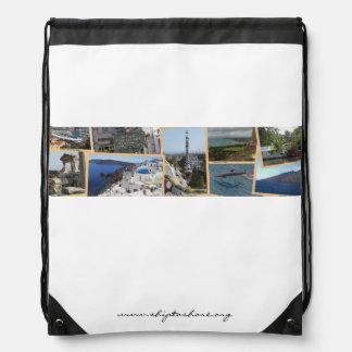 Ship to Shore Logo Drawstring Backback Cinch Bags
