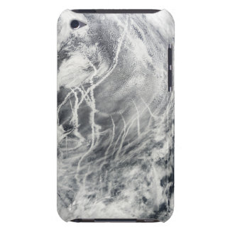 Ship tracks in the Pacific Ocean iPod Case-Mate Case