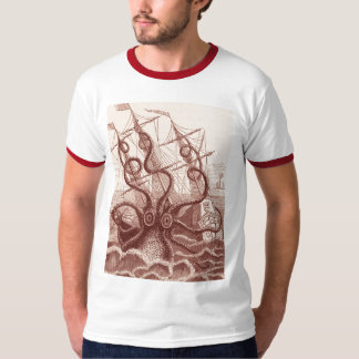 ship vs. octopus T-Shirt