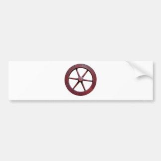 Ship Wheel Bumper Stickers