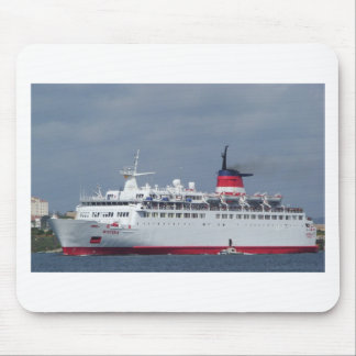 Ship Wisteria. Mouse Pads