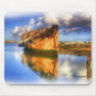 Ship Wrecked Mouse Pad