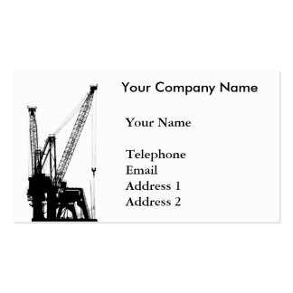 Shipping Cranes for Loading and Unloading Double-Sided Standard Business Cards (Pack Of 100)