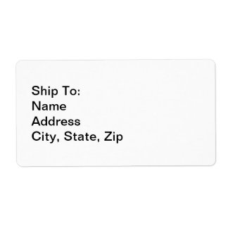 Shipping Labels Create Your Own