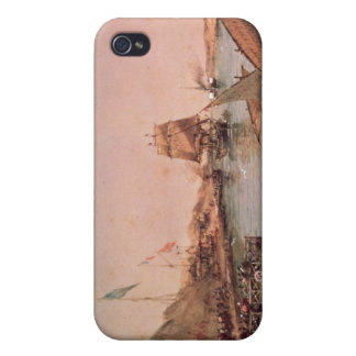 Shipping on the Suez Canal iPhone 4/4S Cover
