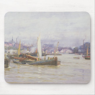 Shipping on the Thames Mouse Pad