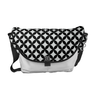 Shippoutsunagi Japanese Pattern Messenger Bag