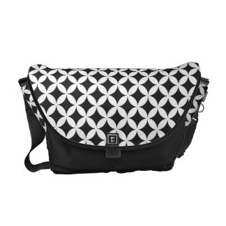 Shippoutsunagi Japanese Pattern Messenger Bag B