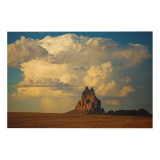 Shiprock vs. Thunderhead Wood Wall Art