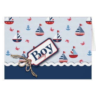 Ships Ahoy! Card