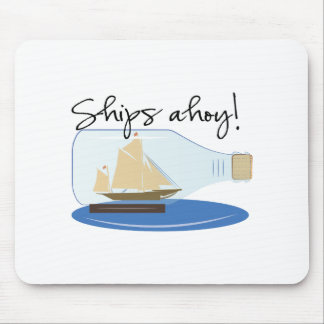Ships ahoy mouse pad