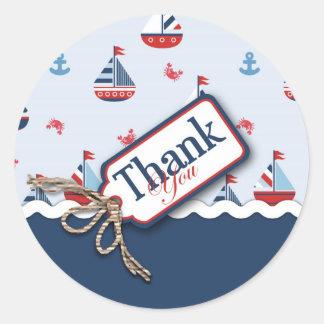 Ships Ahoy! TY Sticker