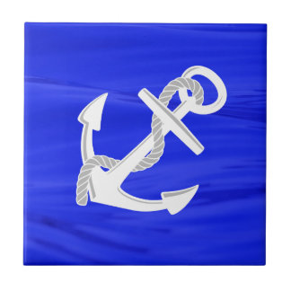 Ship's Anchor Ceramic Tile