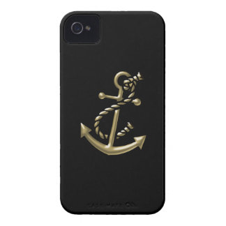 Ship's Anchor Nautical Marine-Themed Gift iPhone 4 Case-Mate Cases