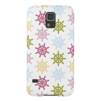 Ships helm pattern case for galaxy s5