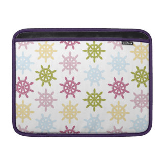 Ships helm pattern sleeve for MacBook air