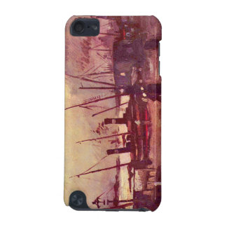 Ships in Antwerp by Vincent van Gogh iPod Touch 5G Case