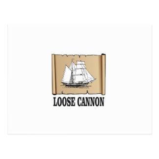 ships log postcard