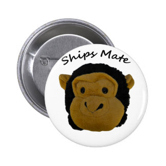 Ships Mate 6 Cm Round Badge