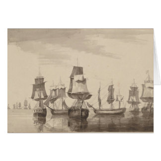 Ships of 26th June 1776 Card