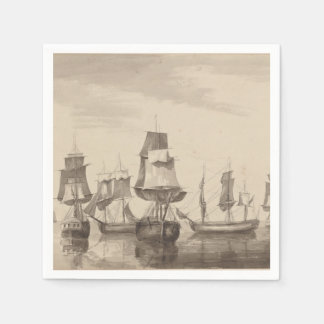 Ships of 26th June 1776 Disposable Serviettes