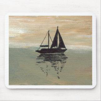 "Ships of the Imagination ""Sailboat Reflections""  C Mousepad"