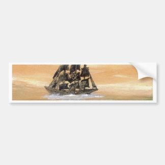 Ships of the Imagination Sailing Ship CricketDiane Bumper Sticker