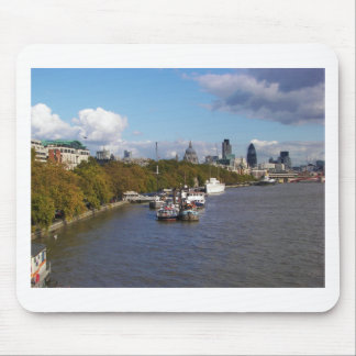 Ships on the Thames. Mouse Pad