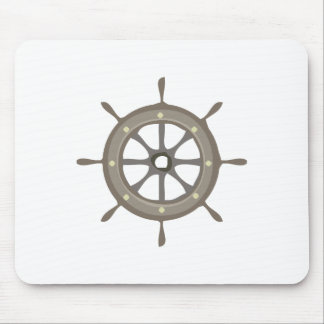 Ships Wheel Mousepads